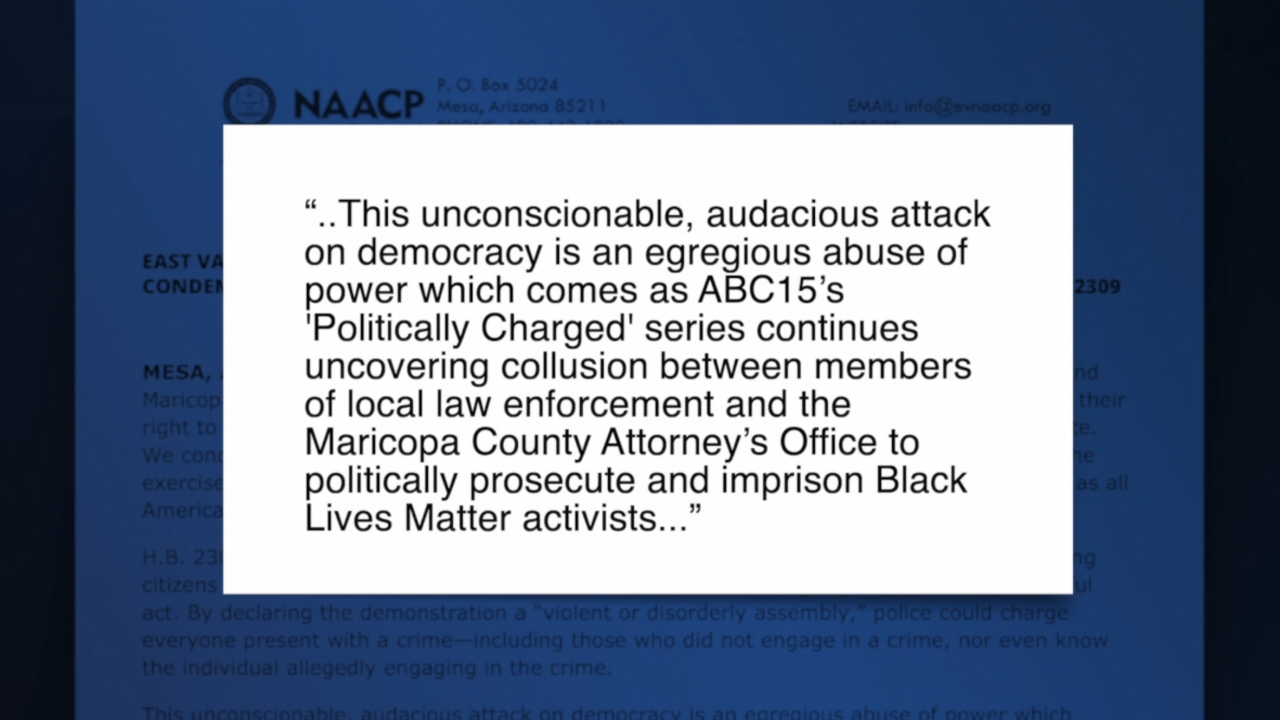 Valley NAACP branches condemn bill that could give police power to punish demonstrators
