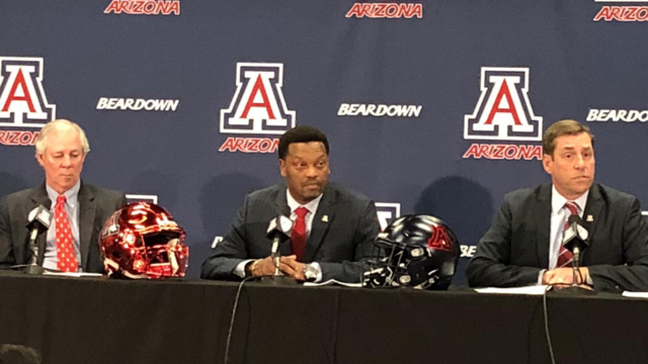 UA introducing Kevin Sumlin as head coach