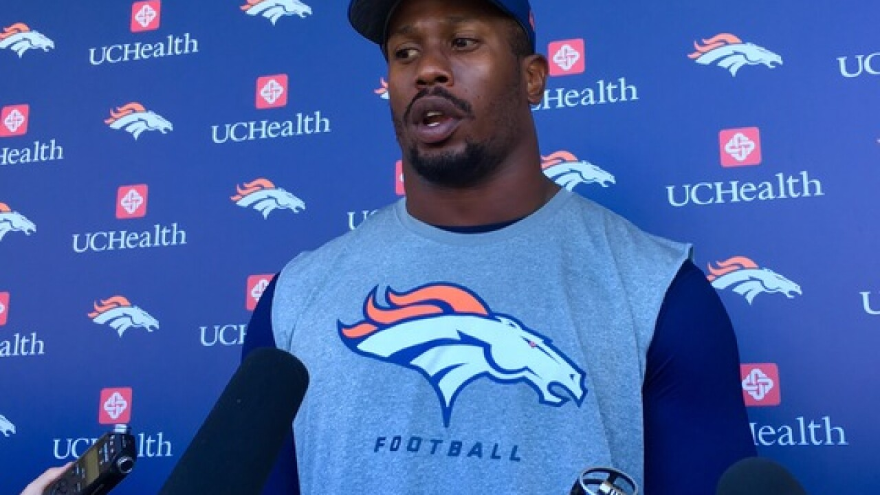Broncos 'D' will feature Von, Wolfe vs. 49ers on Saturday