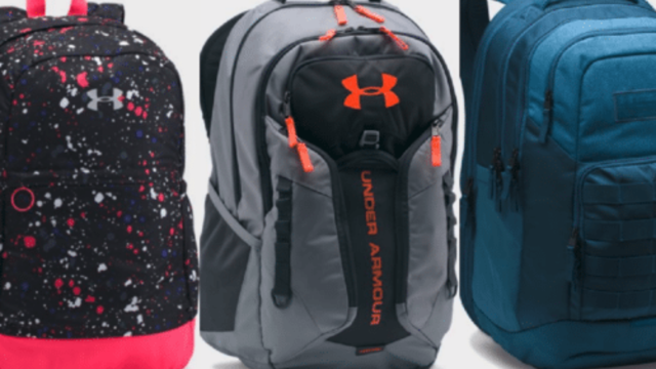 Get Under Armour backpacks at a serious discount right now 8b74483844
