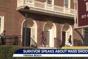 Survivor speaks about mass shooting