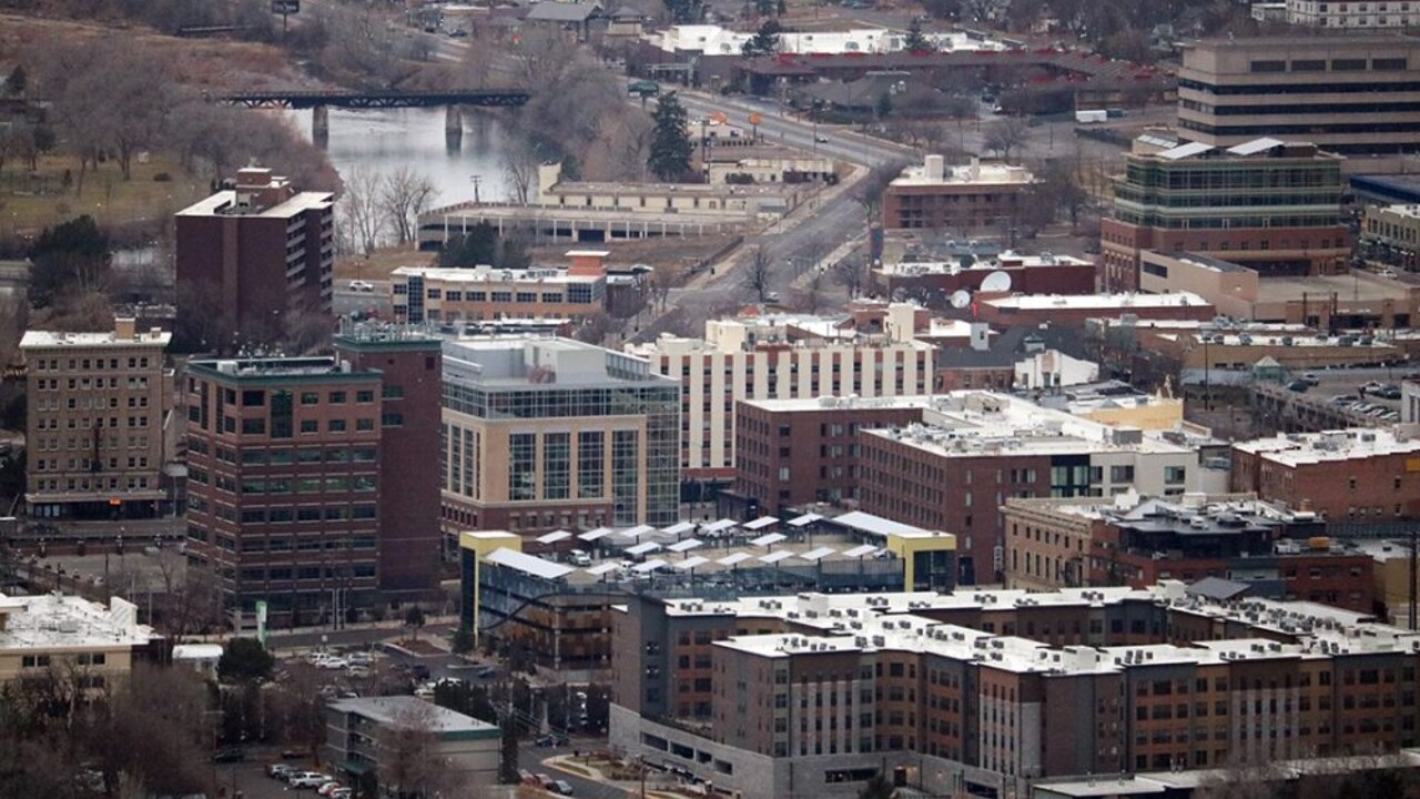 Downtown Missoula Aerial