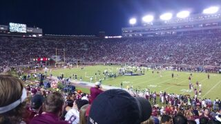 Doak Campbell during Notre Dame game