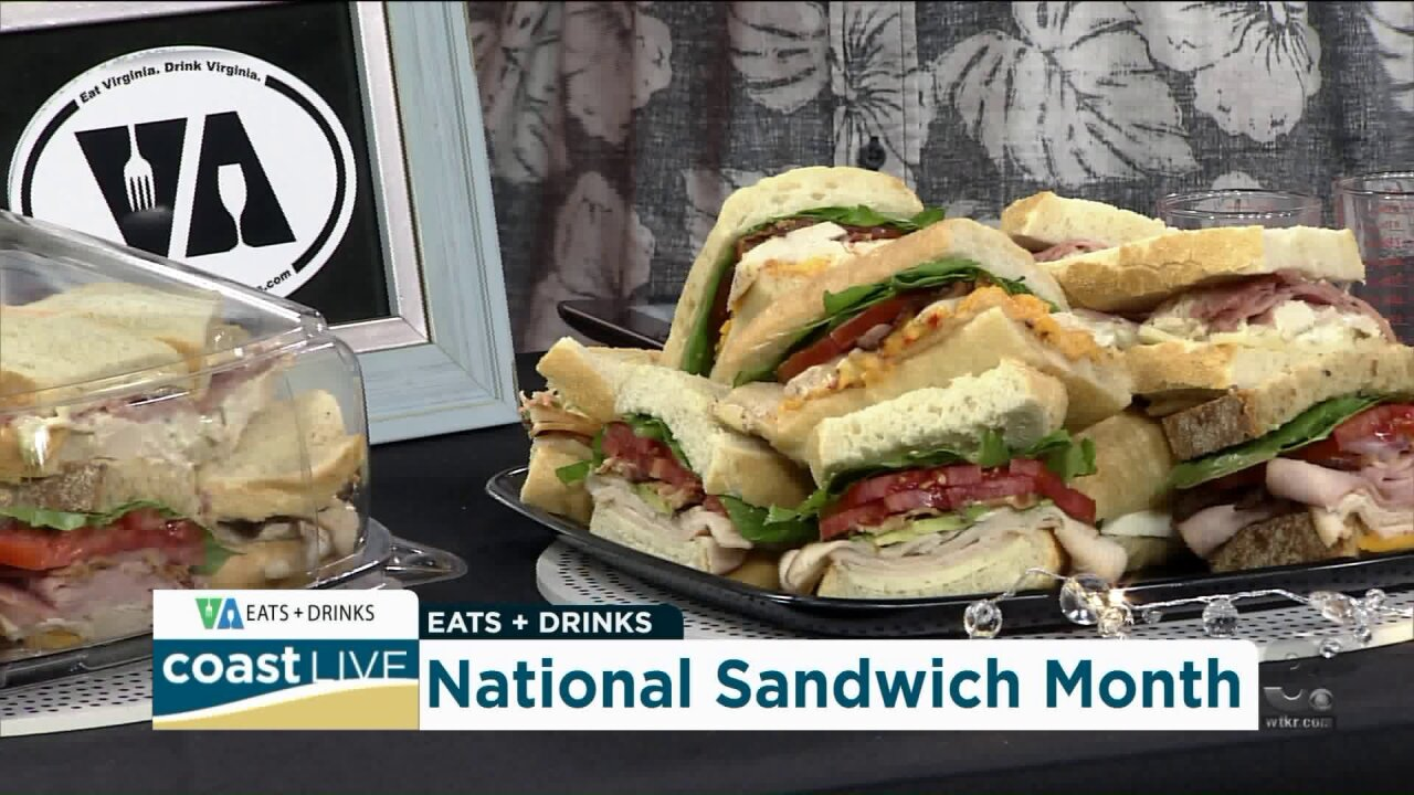 Celebrating National Sandwich Month and making spiced rum cocktails with Chef Patrick on Coast Live