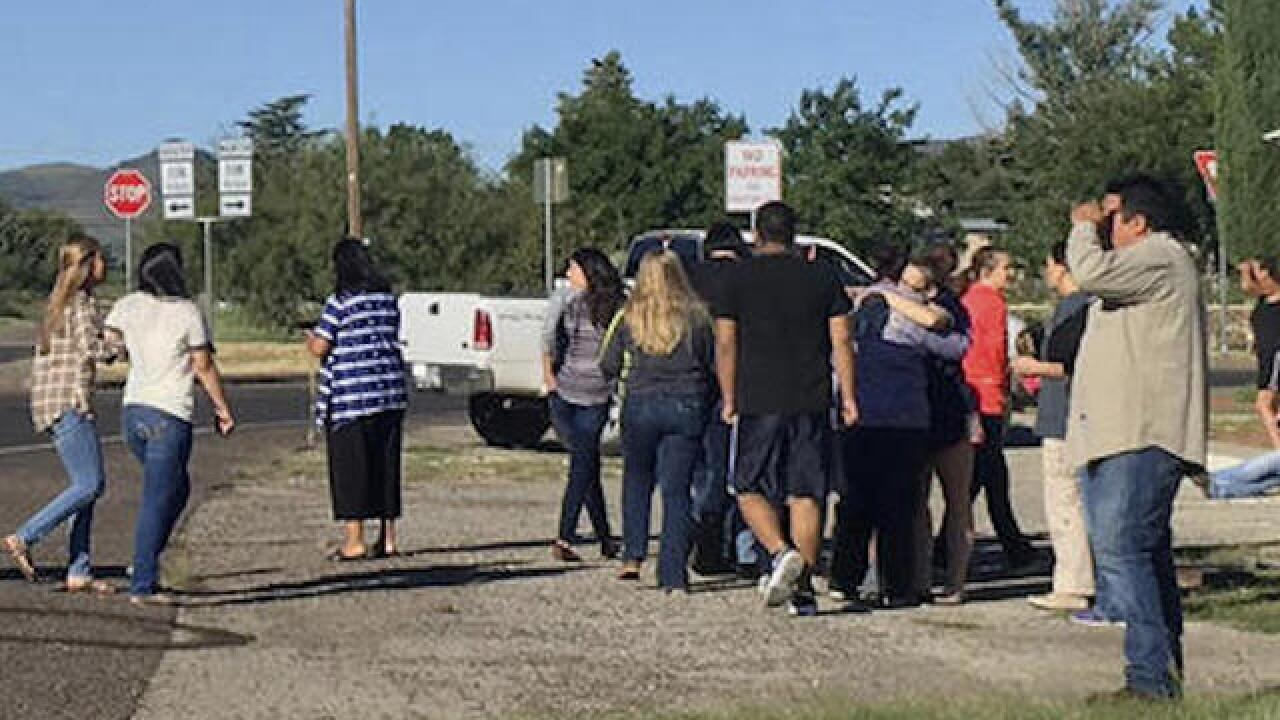 One student and gunman dead in Texas school shooting