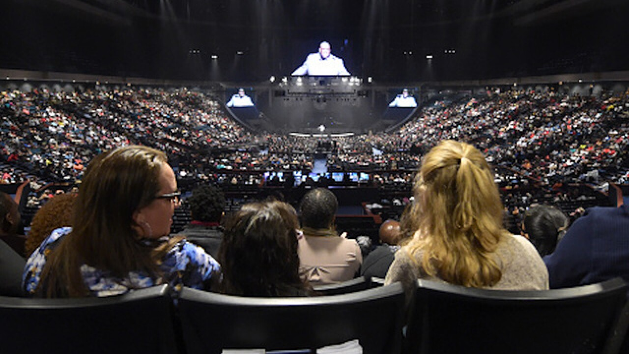 Joel Osteen's church tweets that it's now open to those seeking shelter
