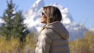 First Lady Melania Trump visits Boy Scouts, goes river rafting  in Wyoming