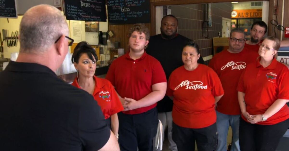 Watch: Al's Seafood in Essex featured on Food Network's Restaurant Impossible