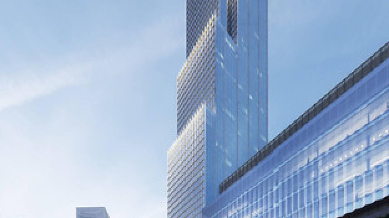 New renderings show 912-foot Detroit skyscraper