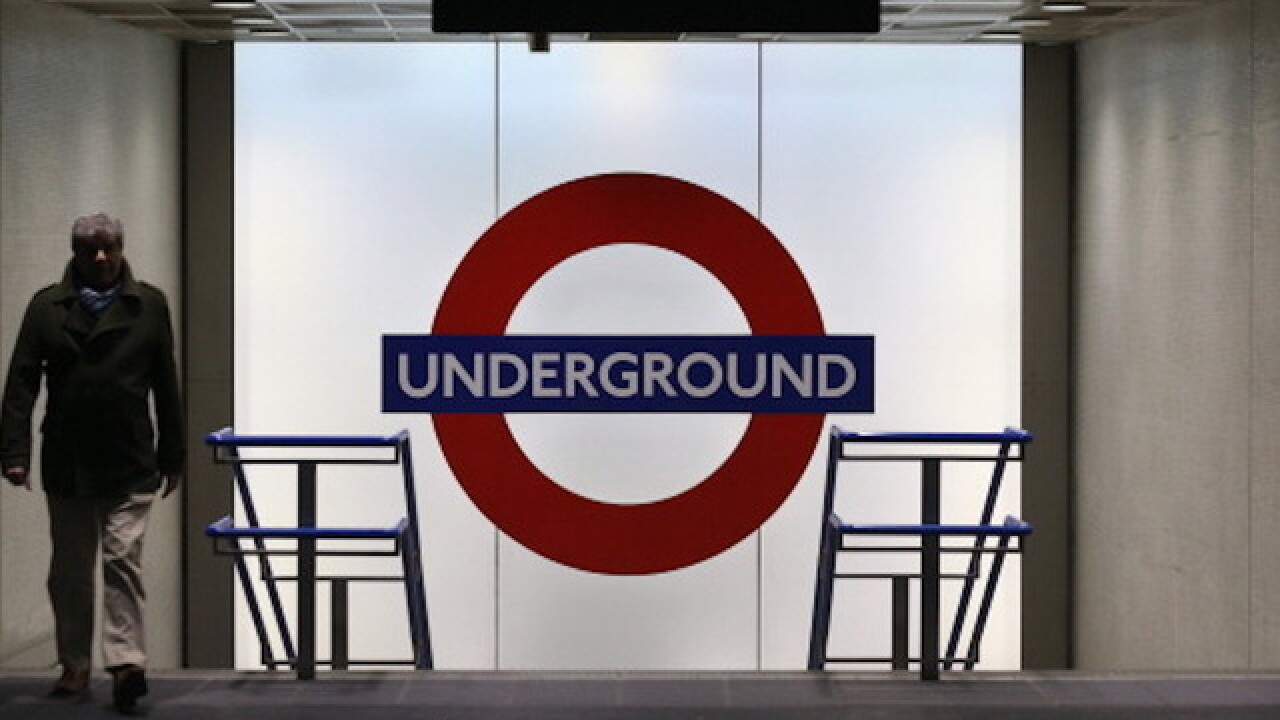 All clear at London Underground station after reports of man with knife