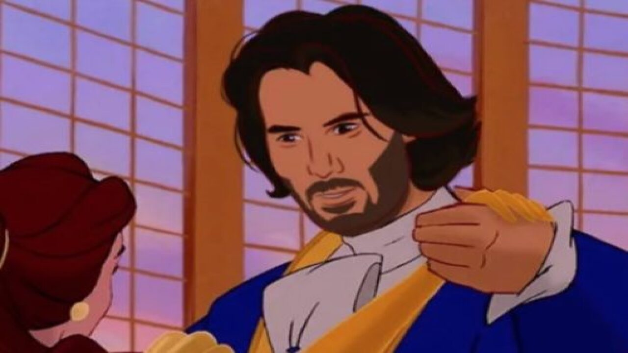 Someone Photoshopped Keanu Reeves Into Tons Of Disney Movies And It's Amazing