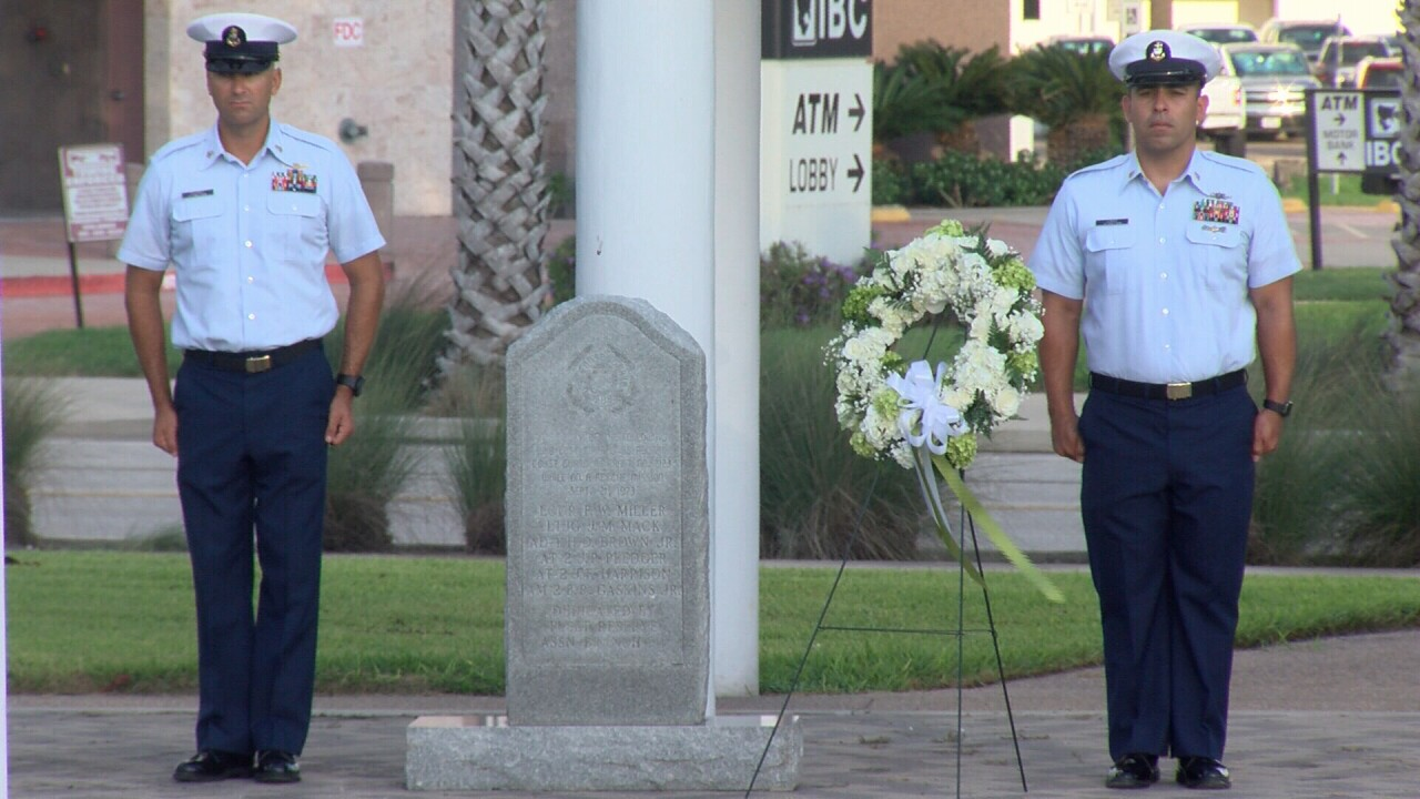 Coast Guard honors crew members killed in 1973 crash