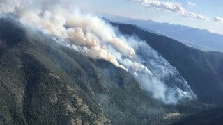 Beeskove fire north of Missoula grows to 211 acres