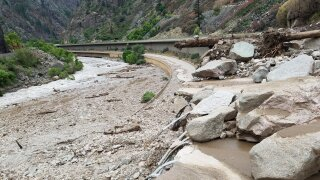 Glenwood Canyon Aug. 1 2021