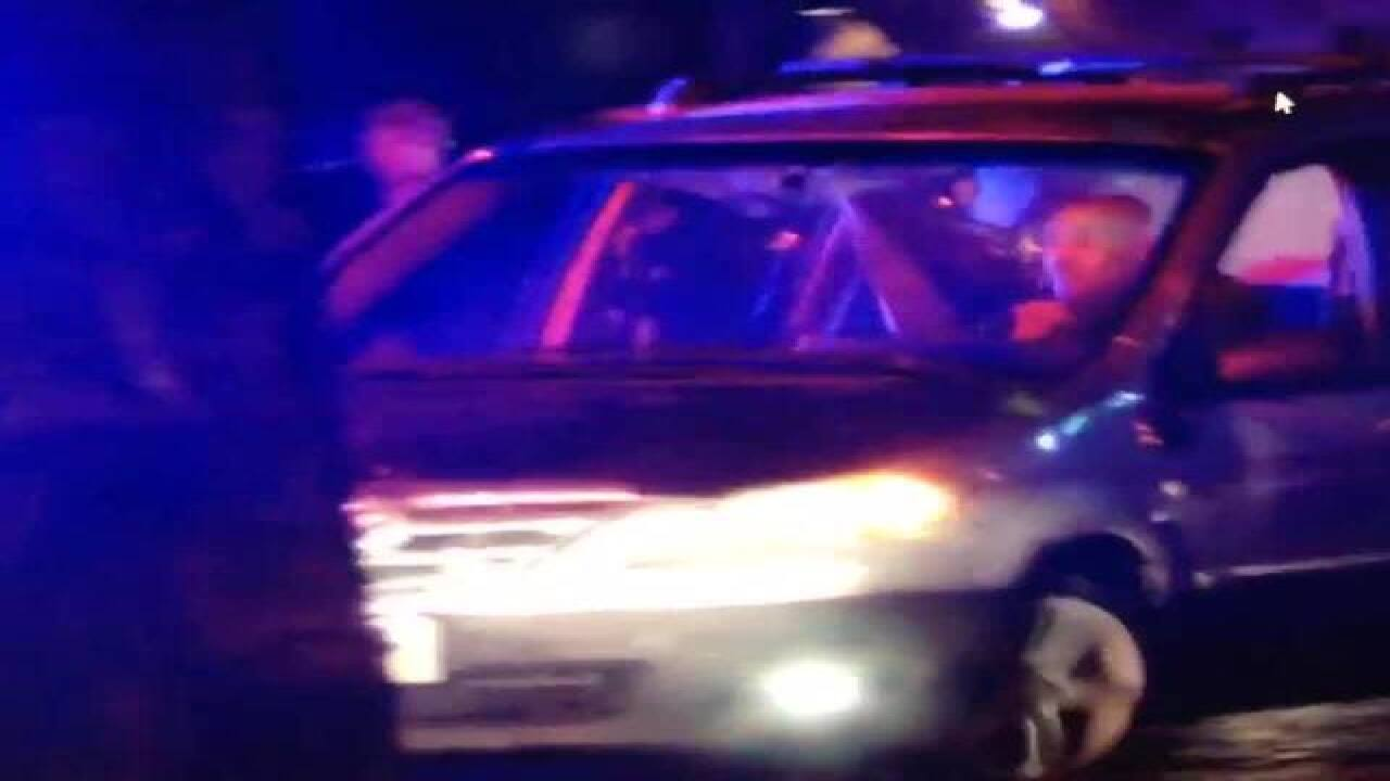 Watch: Police chase driver in Nebraska and Iowa