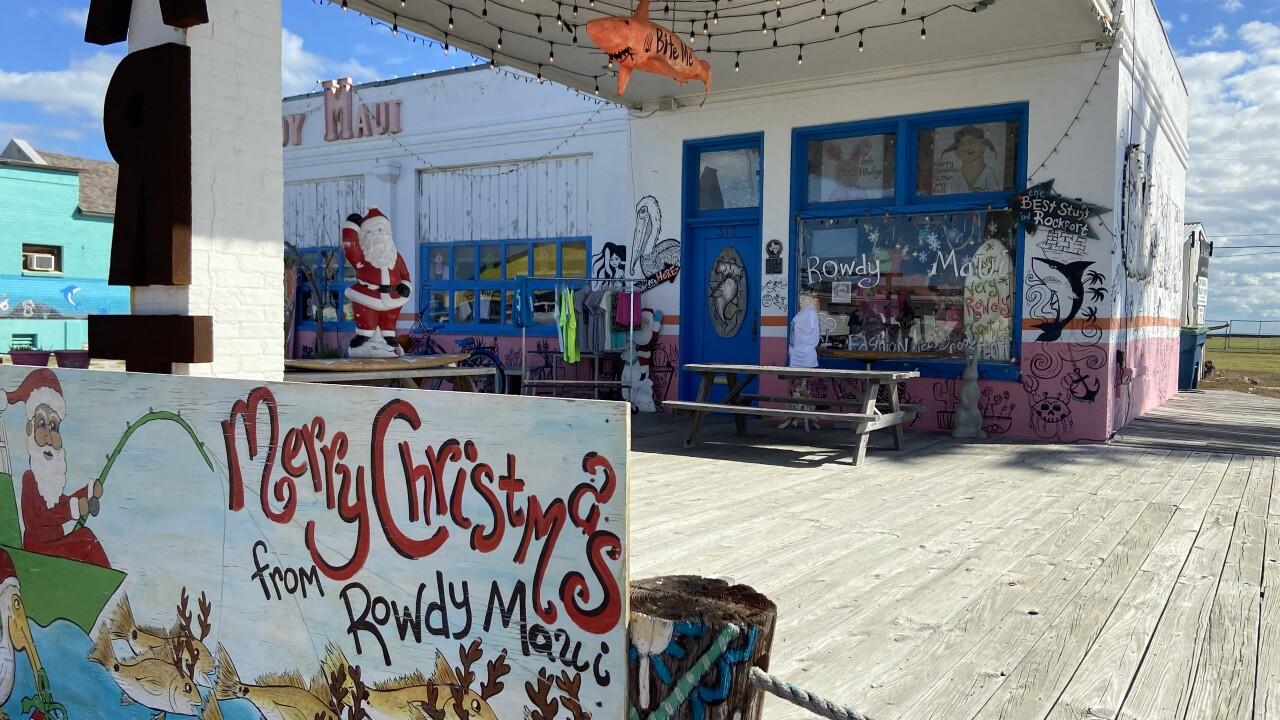 One local business in Rockport is looking forward to the Christmas season