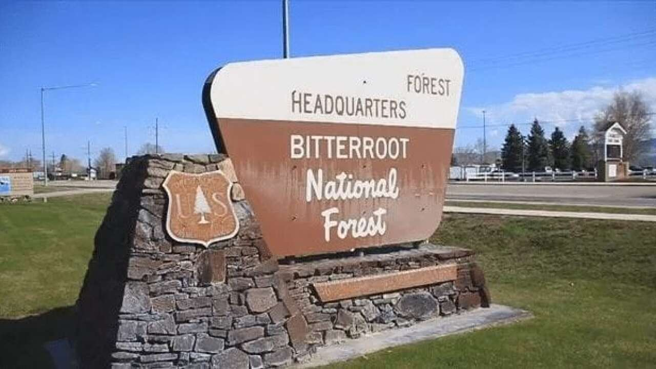 "Bitterroot NF lowering fire danger to ""moderate"""