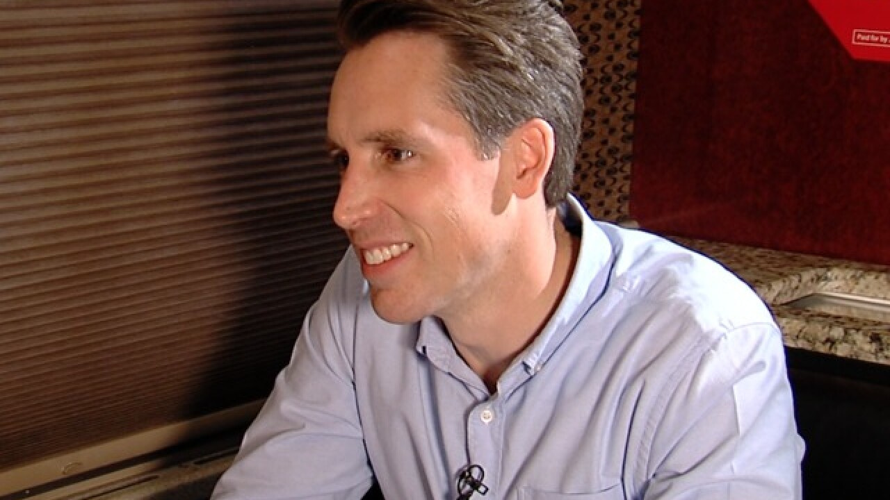 EXCLUSIVE: Hawley denies political consultants helped run AG's office