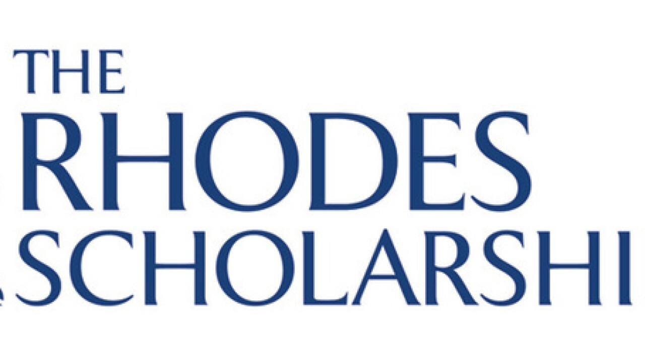 Two women from Maryland named Rhodes Scholars