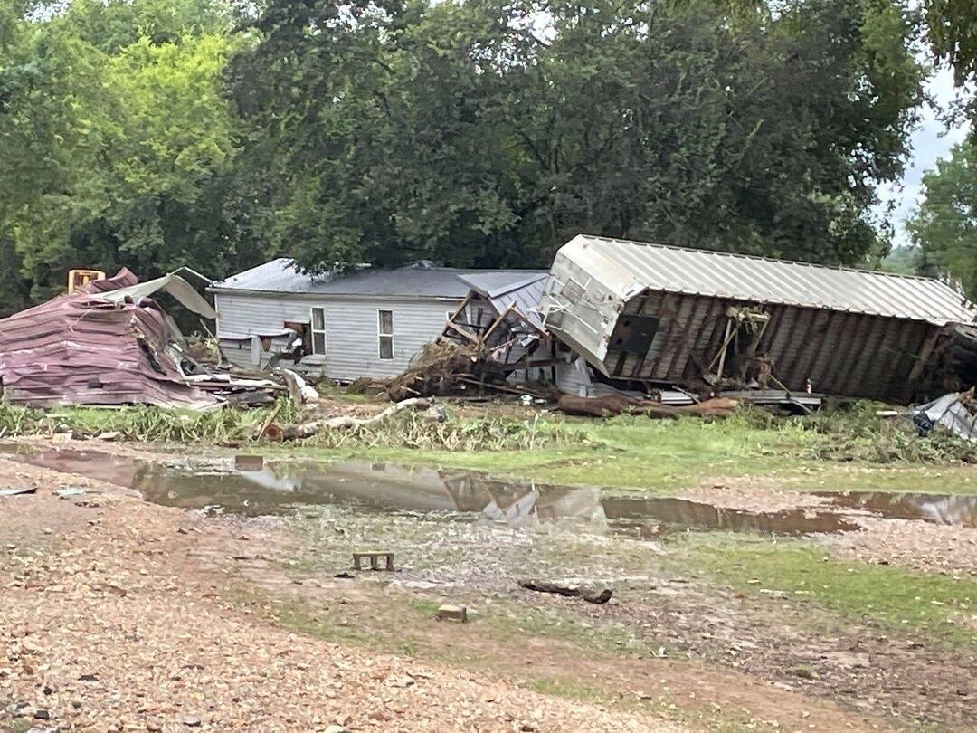 McEwen flood damage august 2021