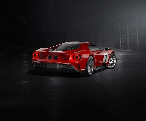 Photo gallery: 2018 Ford GT 1967 Heritage Edition for Le Mans winner