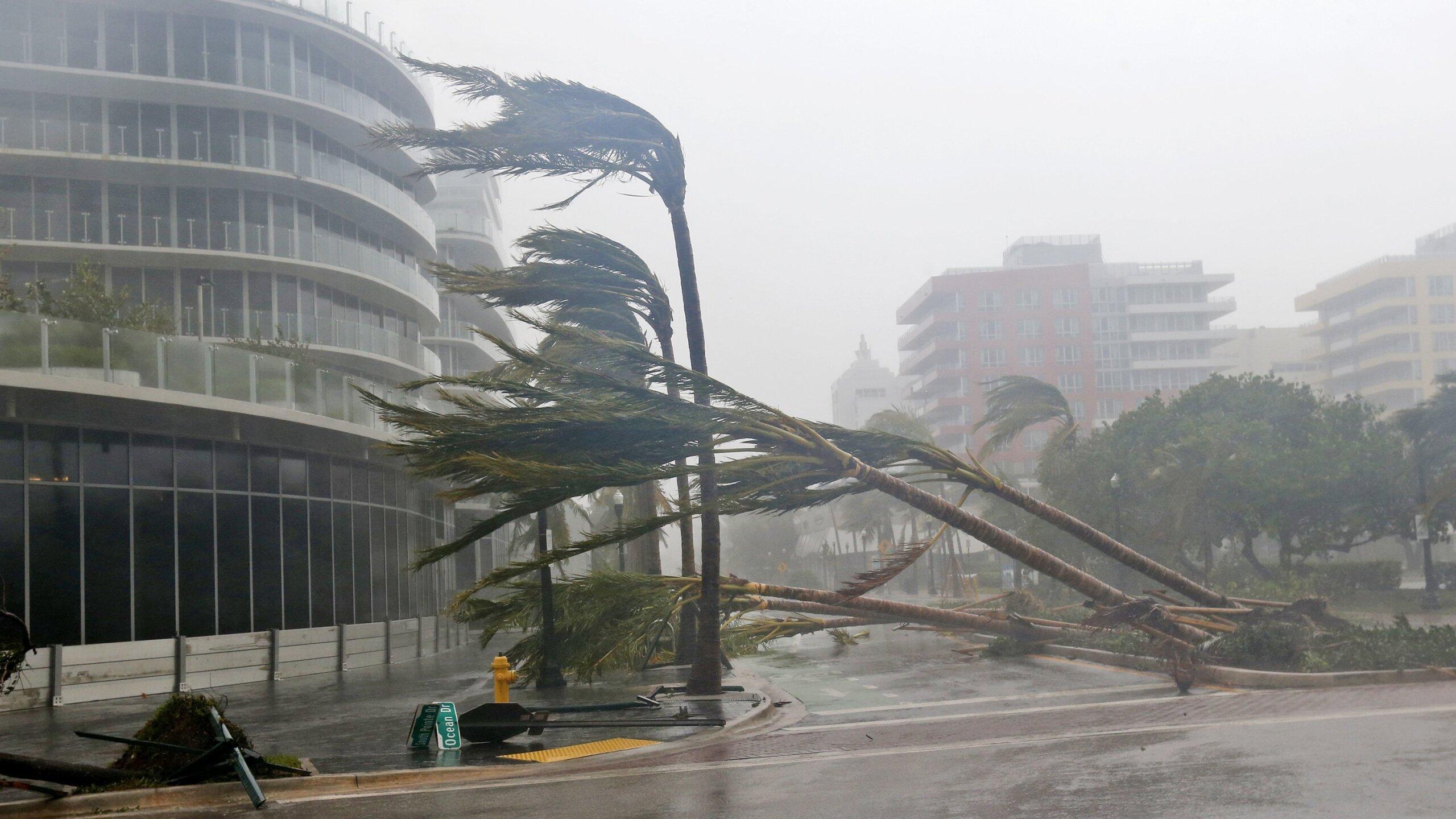 Photos: Irma climbs Florida's coast; 'dangerous' storm surgesfeared
