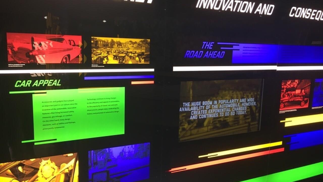 "PICS: ""History on Wheels"" history center exhibit"
