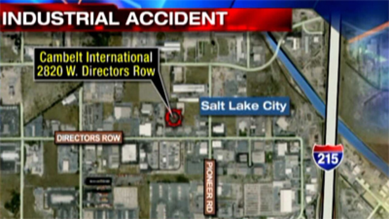 Man killed in SLC industrial accident