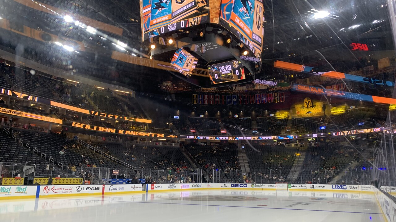 Golden Knights enjoy home ice advantage inside The Fortress