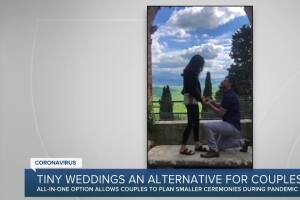 Tiny Weddings offers alternative to couples affected by COVID-19