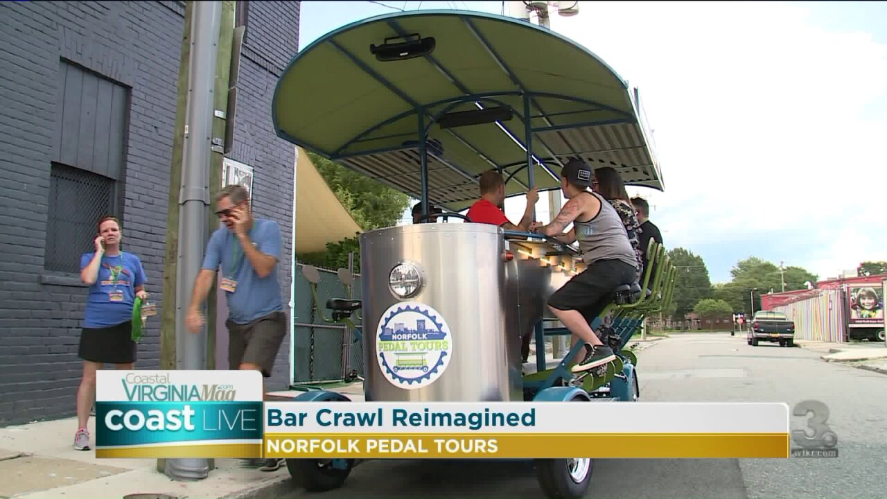 Norfolk Pedal Tours and other exciting events coming to Hampton Roads on Coast Live