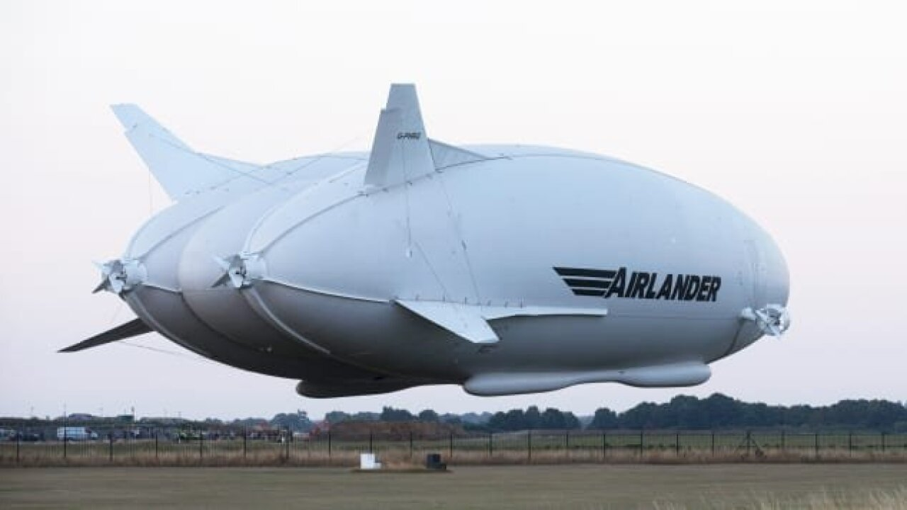 World's biggest aircraft moves toward commercial model