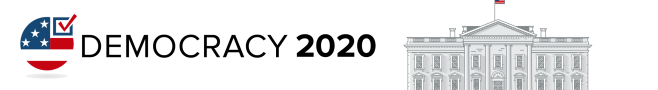 Democracy 2020 section banner