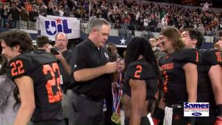 Refugio celebrates its fifth state football championship