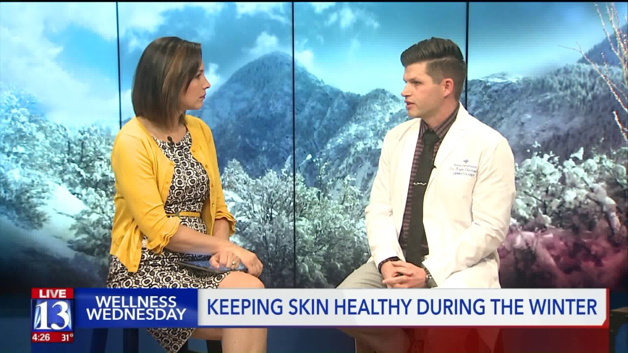 Wellness Wednesday: Keeping skin healthy during winter