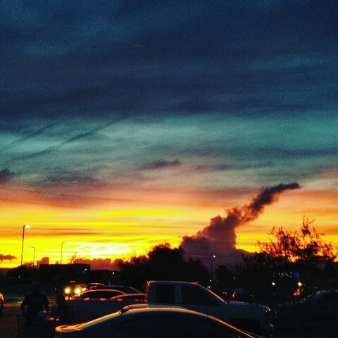 PHOTOS: Amazing sunset on 1 October taken as a sign