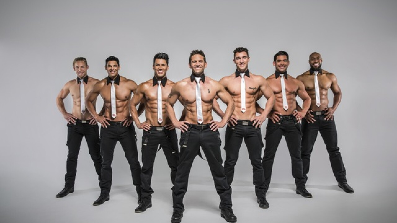 'Men of the Strip' performing at Hard Rock Live