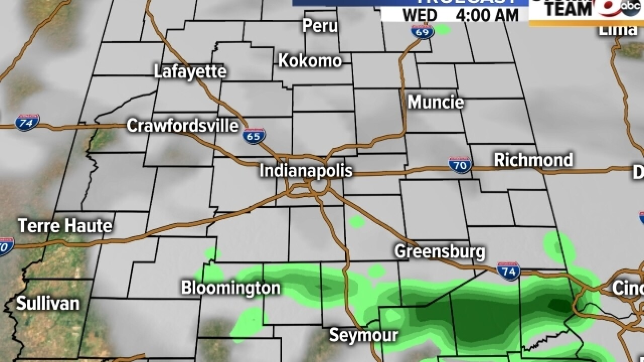 TIMELINE: Severe weather moves through Indiana