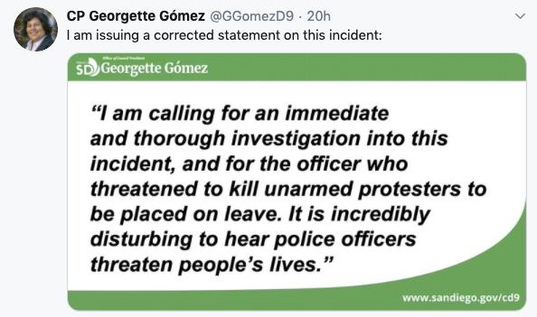 Georgette Gomez Tweet