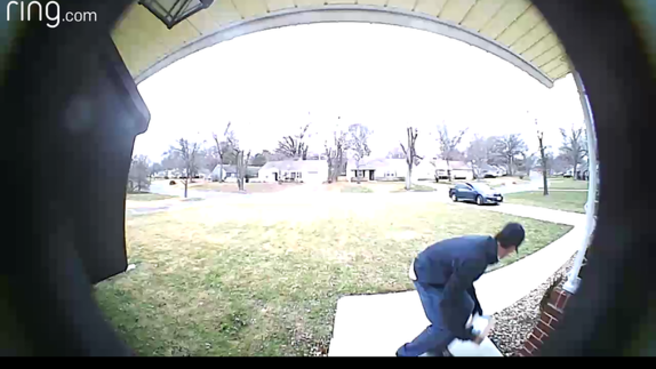 Package thieves target Prairie Village homes