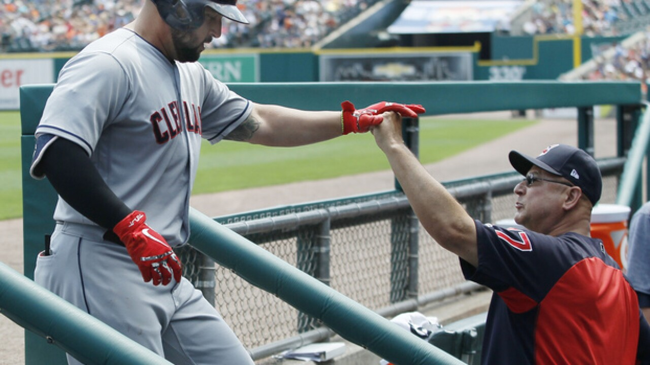 Indians rout Tigers, lead AL Central by 9 games