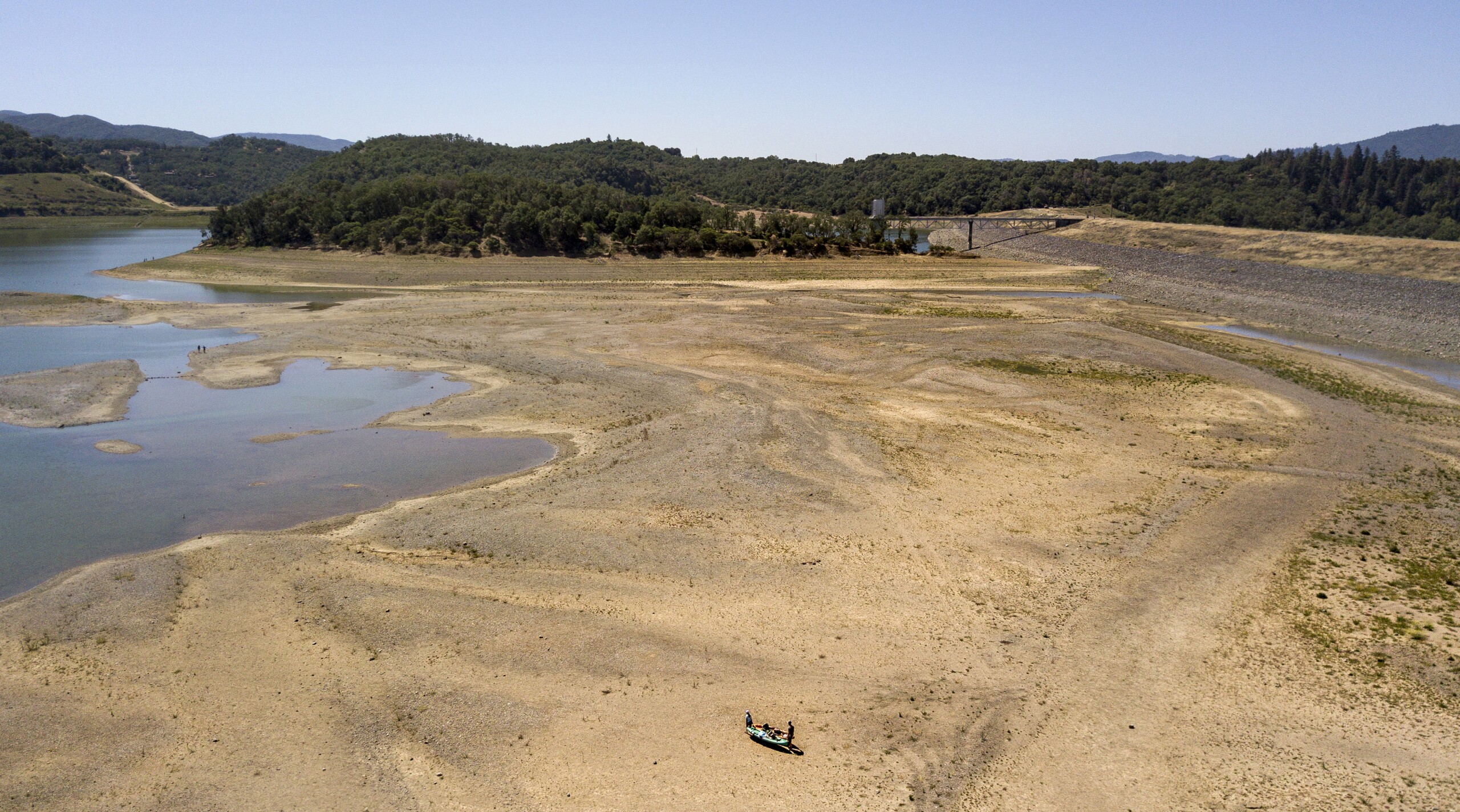 California Drought Reservoirs