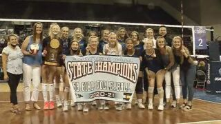 Rampart claims first volleyball state title in school history