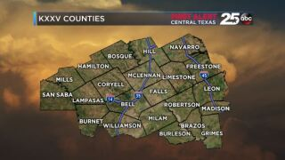 KXXV Coverage Counties