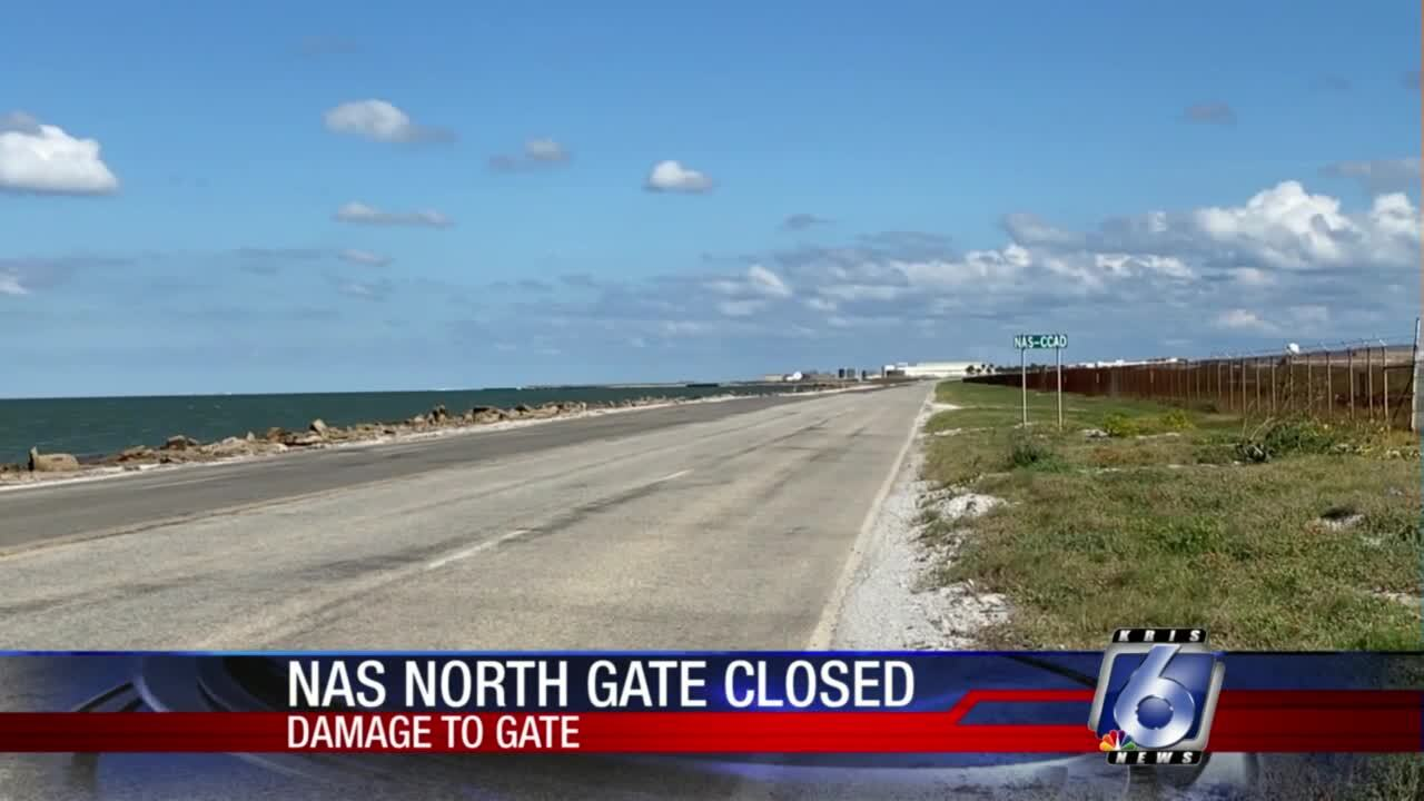 Ocean Drive entrance to Naval Air Station-Corpus Christi will be closed indefinitely