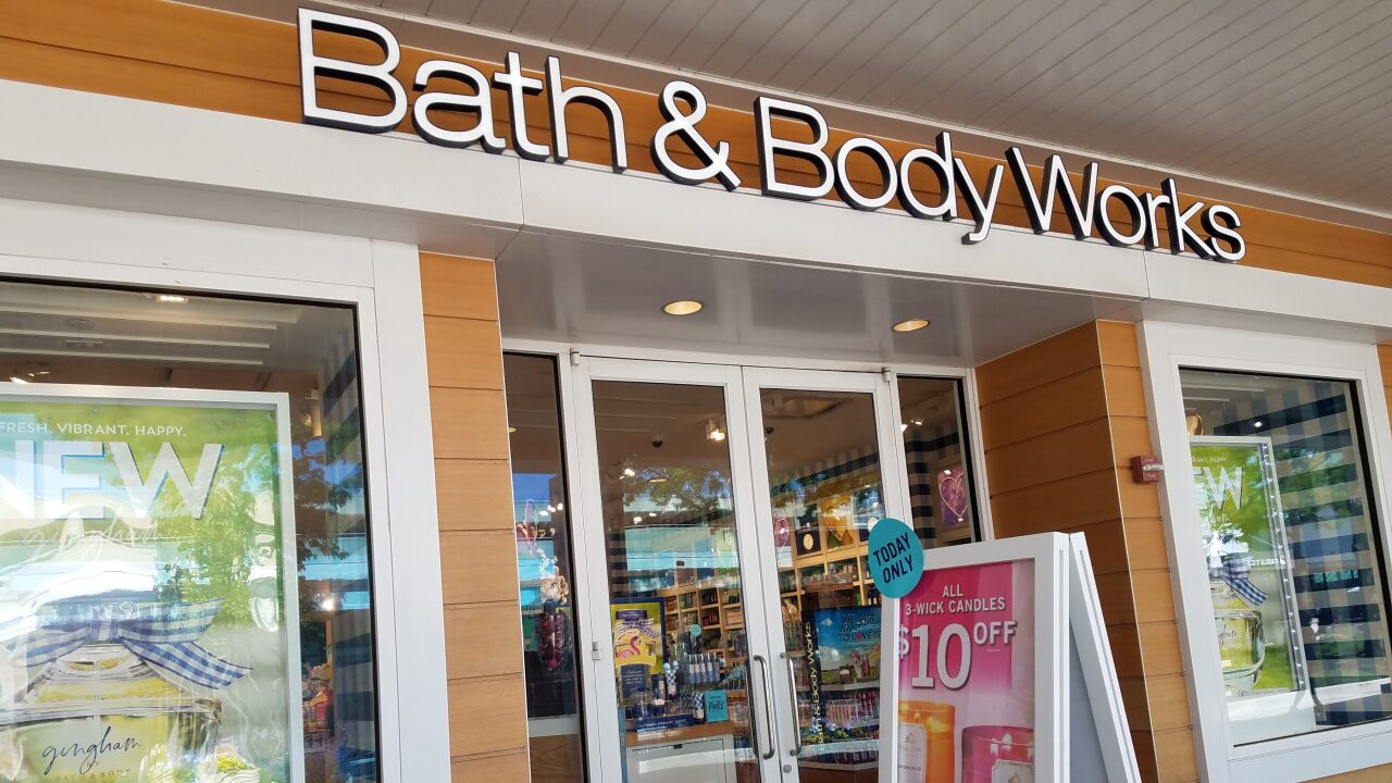 Candles are buy 2, get 2 free at Bath & Body Works