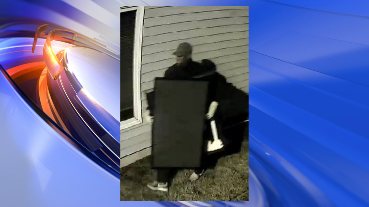 Police searching for suspect who burglarized Hampton physical therapy business
