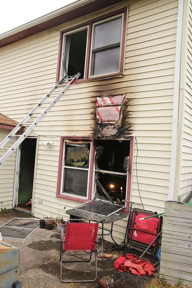 Photos: Two people displaced following Virginia Beach housefire