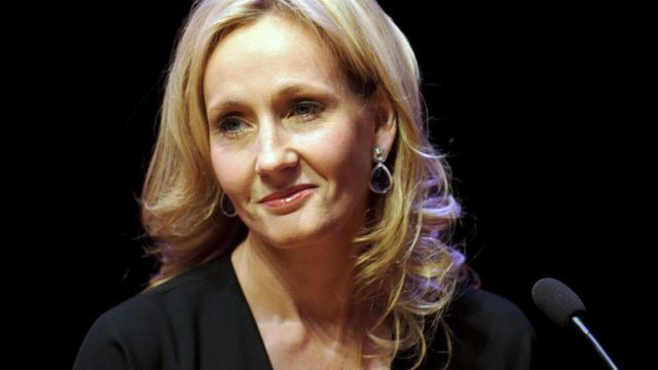 JK Rowling honored by PEN