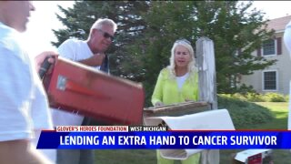 Glover's Heroes helps out breast cancer survivor